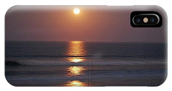 Ocean Moon In Pastels IPhone Case