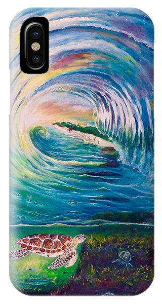 Ocean Reef Beach IPhone Case
