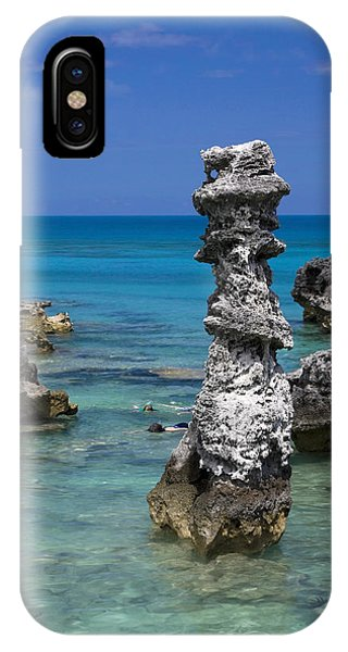 Ocean Rock Formations IPhone Case