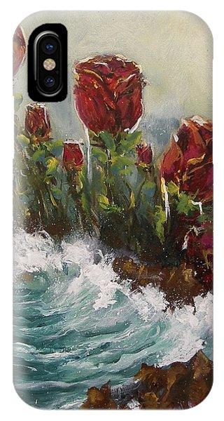 Ocean Rose IPhone Case