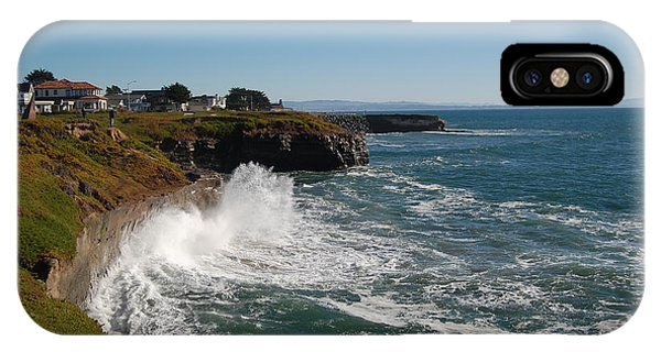 Ocean Spray In Santa Cruz IPhone Case