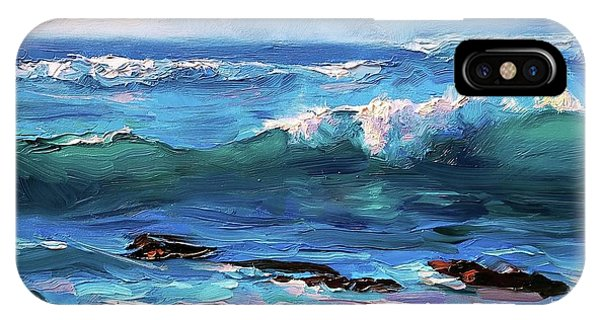 Coastal Ocean Sunset At Turtle Bay, Oahu Hawaii Beach Seascape IPhone Case