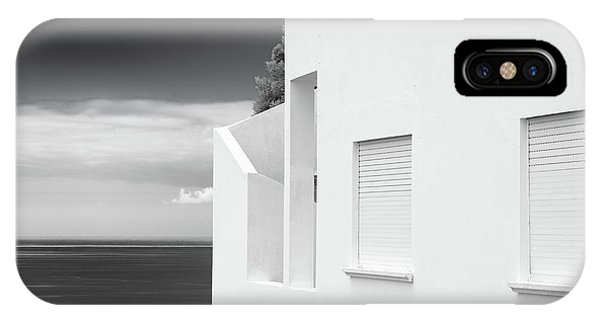 Ocean View White House IPhone Case