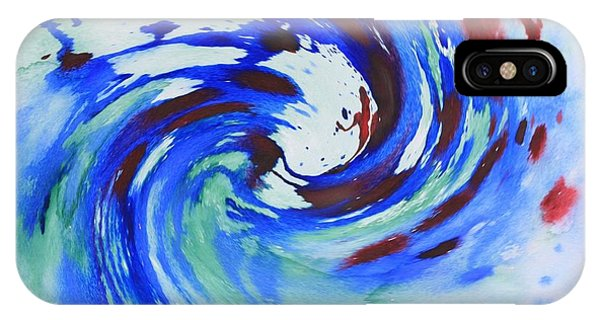 Ocean Wave Watercolor IPhone Case