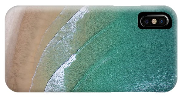 Ocean Waves Upon The Beach IPhone Case