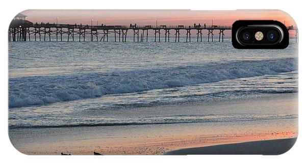 Oceanana Shorebirds IPhone Case