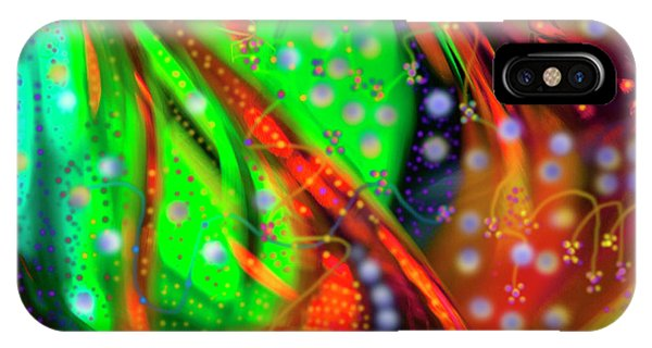 Oceanic Abstract Painting IPhone Case