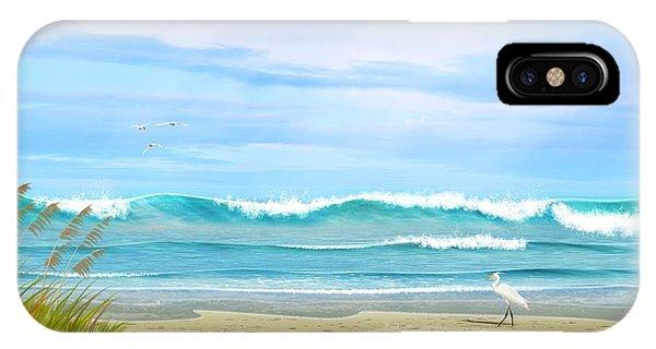 Oceanic Landscape IPhone Case