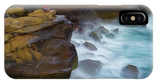Oceanic Meditation IPhone Case