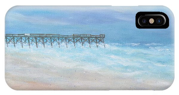 Oceanic Pier At Wrightsville Beach IPhone Case