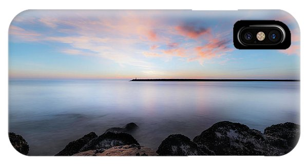 Pacific Ocean iPhone Case - Oceanside Harbor Sunset by Larry Marshall