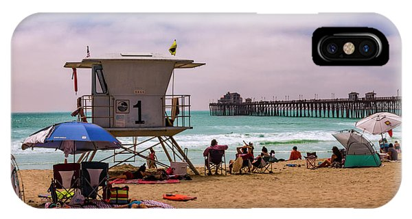 Oceanside Lifeguard IPhone Case
