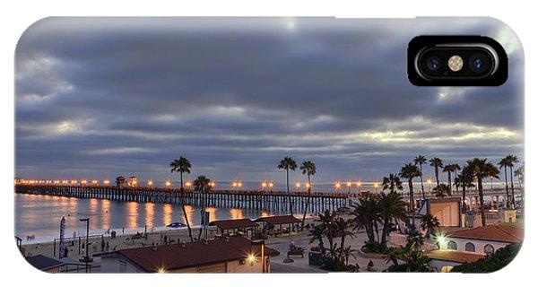 Oceanside Pier At Dusk IPhone Case