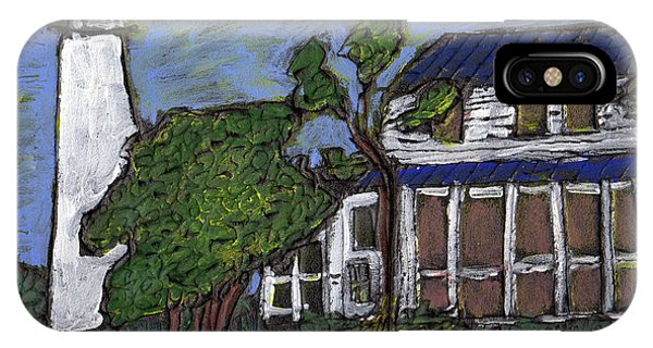 Ocracoke Island Light House IPhone Case