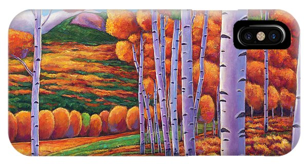 Birch Tree iPhone Case - October Enclave by Johnathan Harris