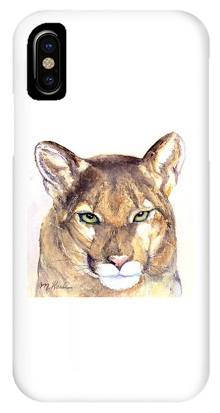 October Lion IPhone Case