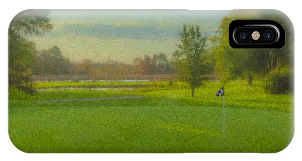 October Morning Golf IPhone Case