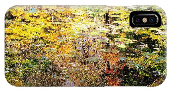 October Pond IPhone Case
