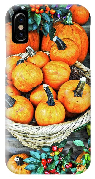 October Pumpkins IPhone Case