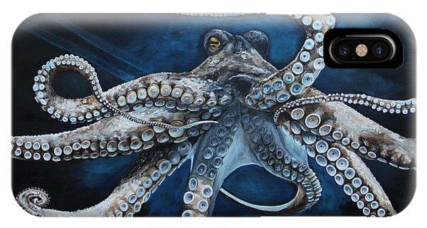 Fish iPhone Case - Octopus by Alyssa Rosales