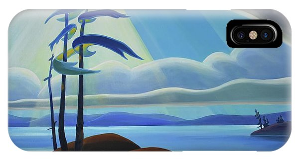 Ode To The North II - Center Panel IPhone Case