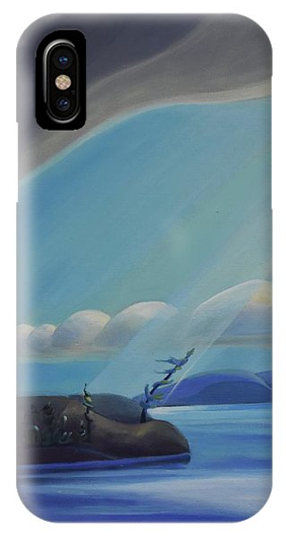 Ode To The North II - Left Panel IPhone Case