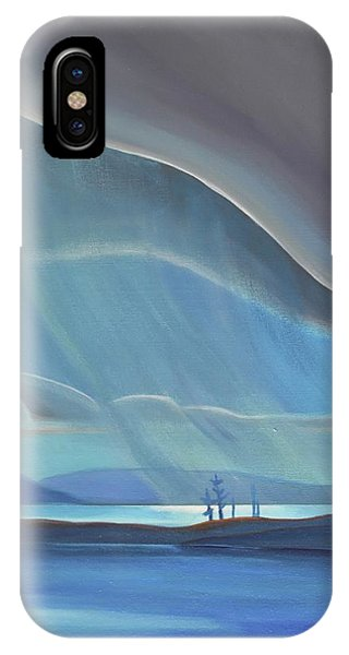Ode To The North II - Rh Panel IPhone Case