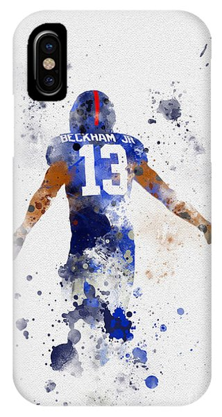Nfl iPhone Case - Odell Beckham Jr by My Inspiration