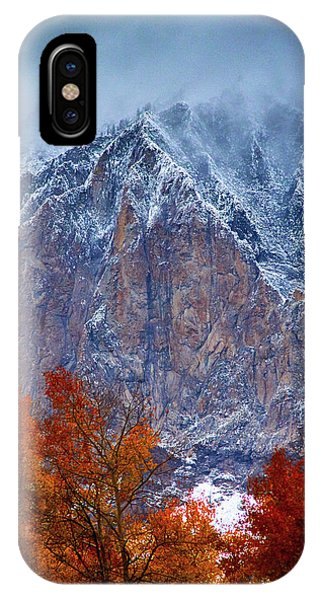 Of Fire And Ice IPhone Case