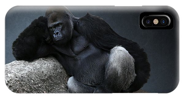 Off Duty Gorilla IPhone Case