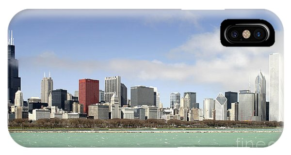 Off The Shore Of Chicago IPhone Case