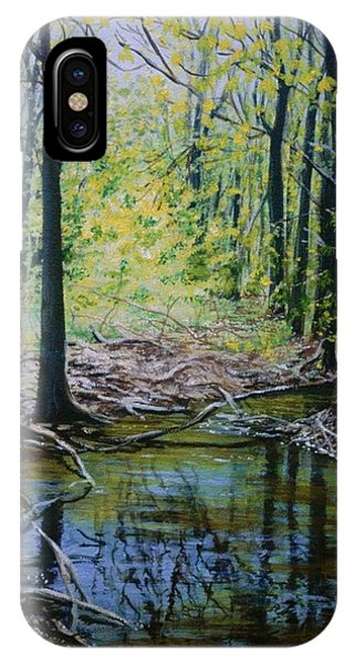 Off The Trail IPhone Case