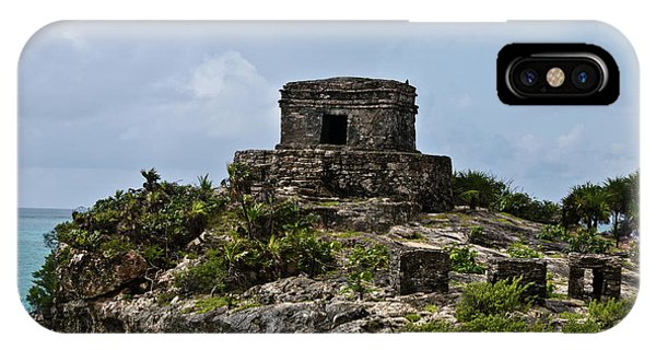 Solidity iPhone Case - Offertories Telum Ruins Mexico by Douglas Barnett