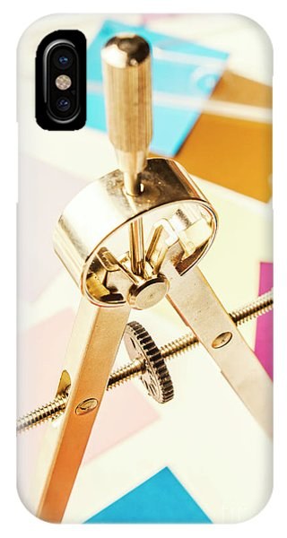 Sketch iPhone Case - Office Plan Draft by Jorgo Photography - Wall Art Gallery