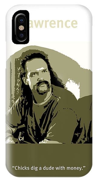Office iPhone Case - Office Space Lawrence Diedrich Bader Movie Quote Poster Series 006 by Design Turnpike
