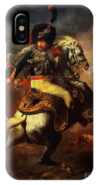 Cavalry iPhone Case - Officer Of The Hussars by Theodore Gericault