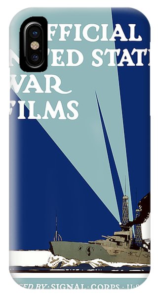 Wwi iPhone Case - Official United States War Films by War Is Hell Store
