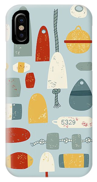 Boat iPhone Case - Oh Buoy by Nic Squirrell