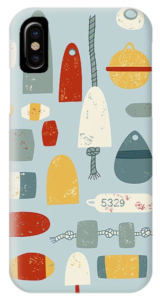 Boats iPhone Case - Oh Buoy by Nic Squirrell