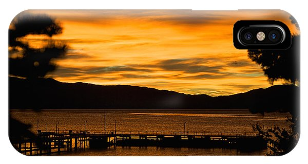 Oh Tahoe Glow IPhone Case