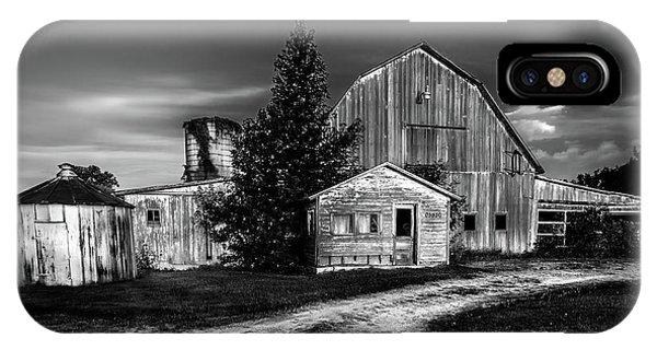 Ohio Barn At Sunrise IPhone Case