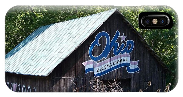 Ohio Bicentennial Barn IPhone Case