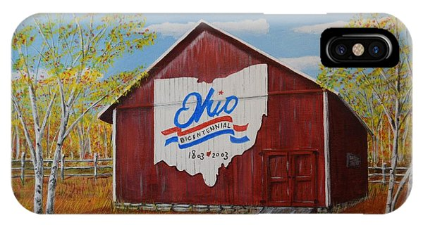 Ohio Bicentennial Barns 22 IPhone Case