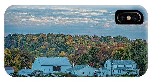 IPhone Case featuring the photograph Ohio Farm by David Waldrop