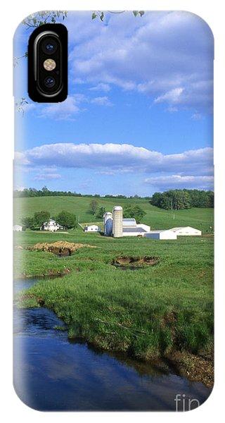 3d203 Ohio Farm Photo IPhone Case