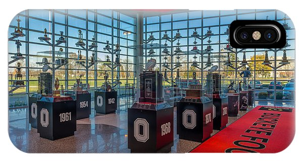 Ohio State Football Trophy Collection IPhone Case