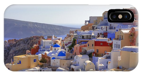 Oia - Santorini IPhone Case
