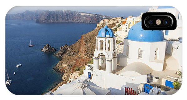 Oia Views, Santorini Greece IPhone Case