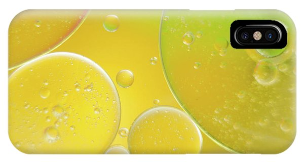 Oil And Water Bubbles  IPhone Case