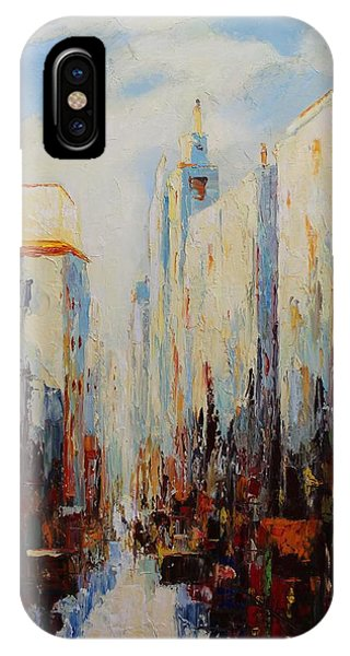 Oil Msc 059 IPhone Case